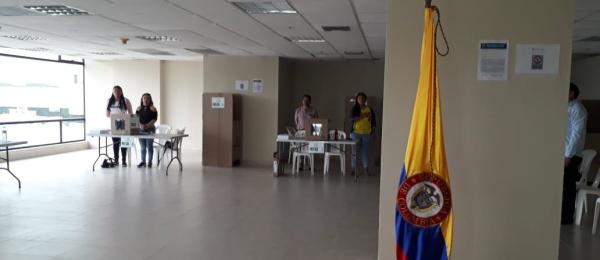 Consulado de Colombia en Guayaquil concluyó la Consulta Anticorrupción 2018