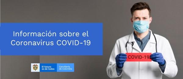 Información sobre el Coronavirus (COVID-19) para colombianos residentes en Guayaquil